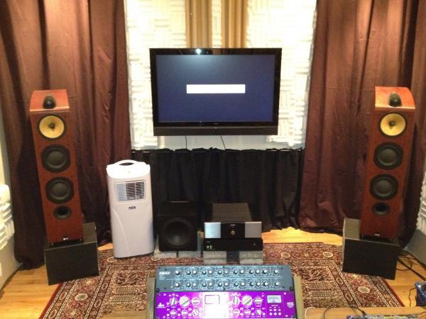 Premium custom built mastering studio.
