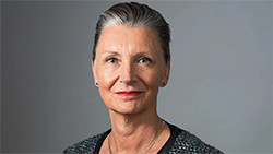 På bilden: Anna Söderbäck, direktör Konstnärsnämnden Fotograf: Johan Westin
