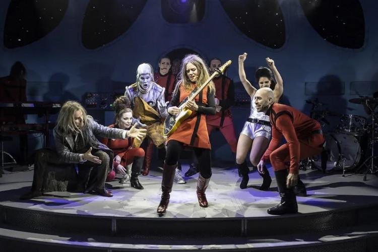 Shakespeare i rymden – nu landar rockmusikalen i Göteborg