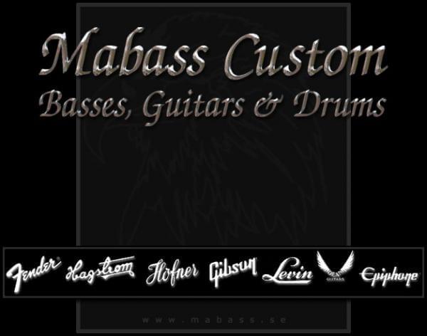 mabass custom basses & guitars