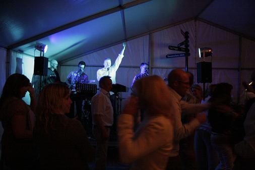 Full ös till en 40 års fest i Hunseröd (Skåne)