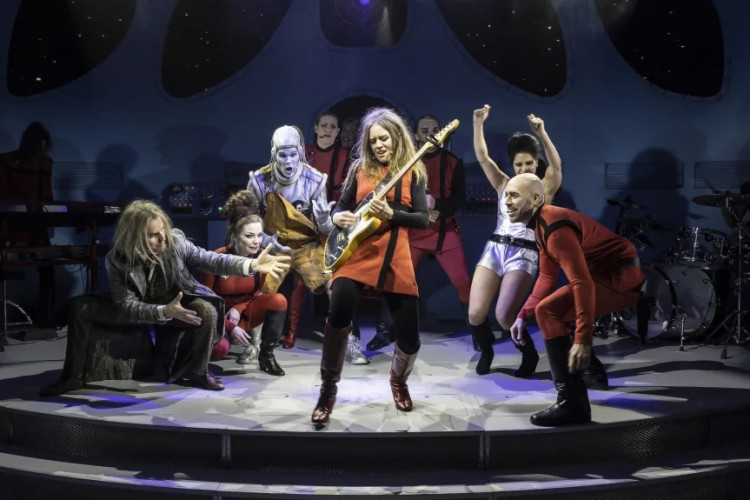 GöteborgsOperans RETURN TO THE FORBIDDEN PLANET på turné