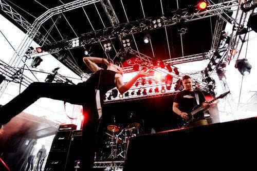Eldrimner on stage in Gothenburg